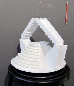 Staircase project side view