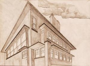 2 Point Perspective Exterior